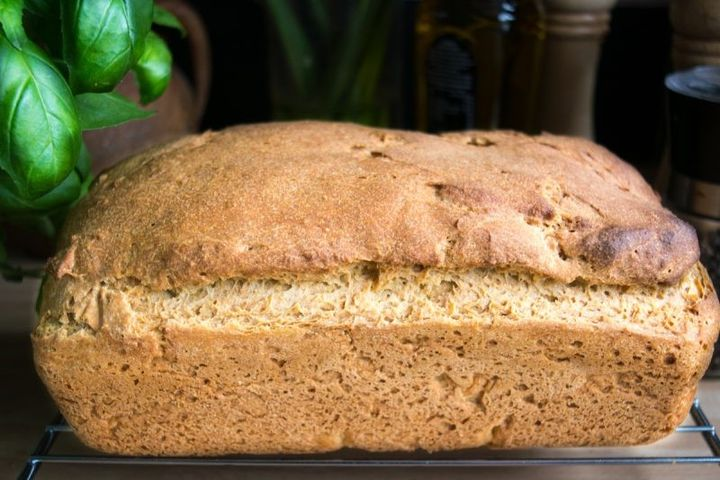 Хлеб без глютена в духовке