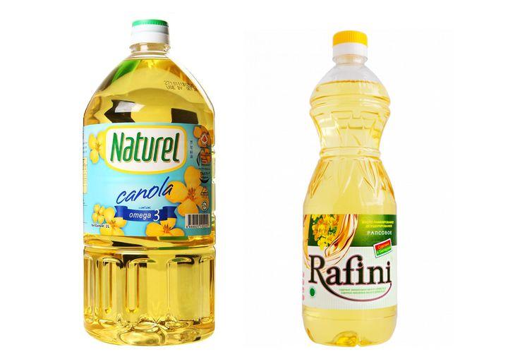 Рафинированное рапсовое масло для употребления в пищу