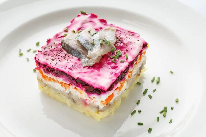 Соус для салата селедка под шубой
