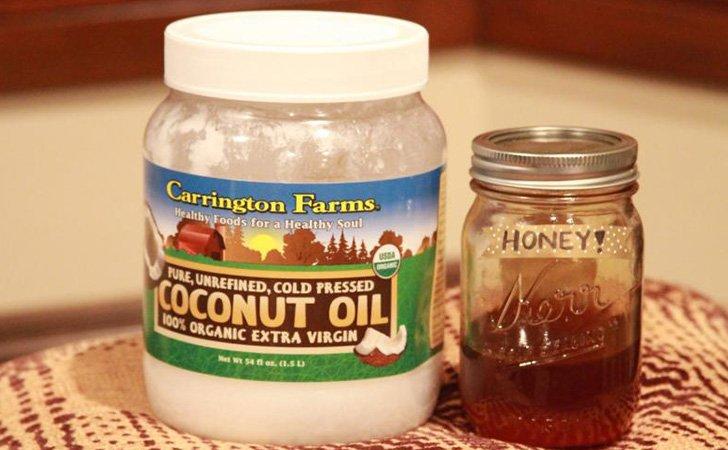 Кокосовое масло, мед и алоэ для волос