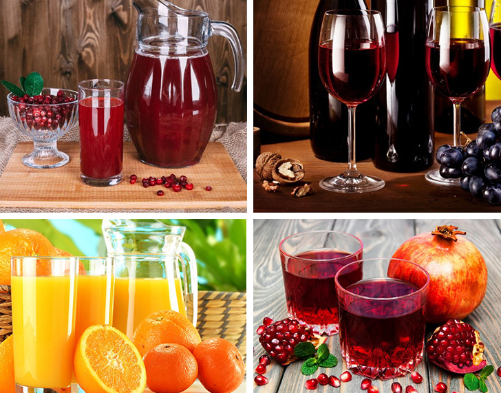 Напитки богатые антиоксидантами