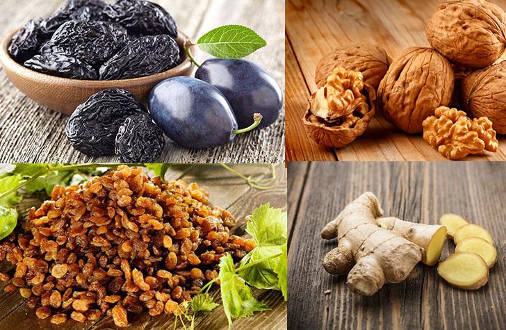 Продукты, содержащие антиоксиданты в большом количестве