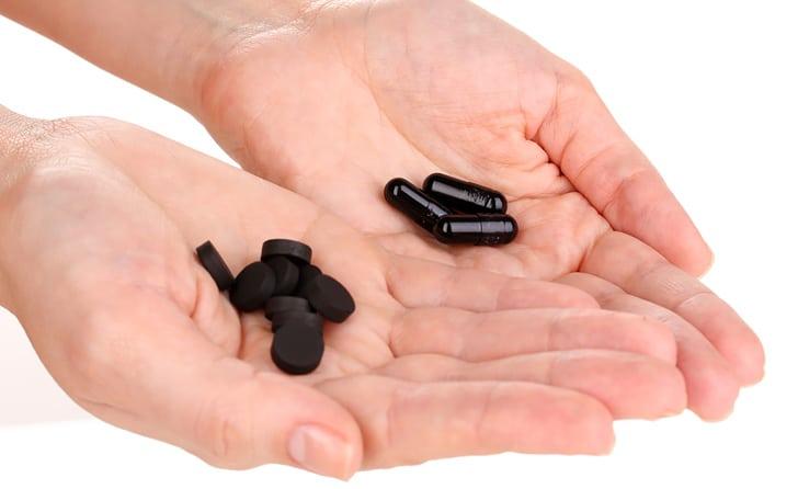 Активированный уголь для кожи и волос