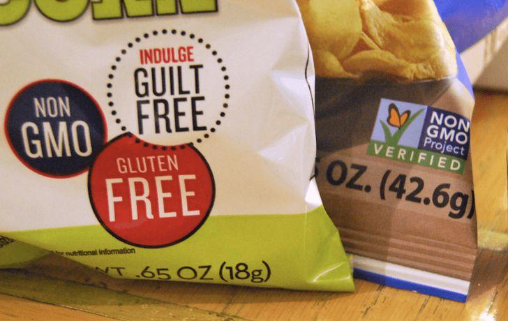 Отметка на этикетке gluten free