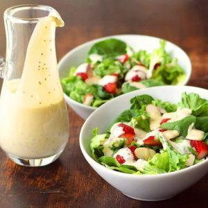 Заправки для салатов вместо майонеза
