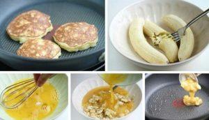 Рецепты банановых оладьев