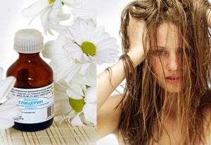 Глицерин для волос