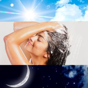 Когда лучше всего мыть голову