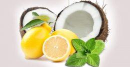 Кокосовое масло и лимонная паста