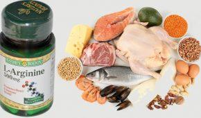Миниатюра к статье Где больше всего содержится L аргинин? Таблица продуктов питания, препараты