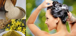 Маска с горчицей и дрожжами для роста волос