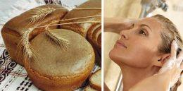 Как мыть голову хлебом