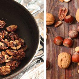 Орехи жаренные или сырые