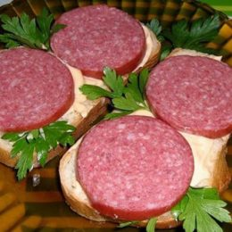 Самый калорийный бутерброд