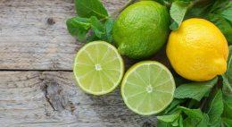 Мятно-лимонный напиток