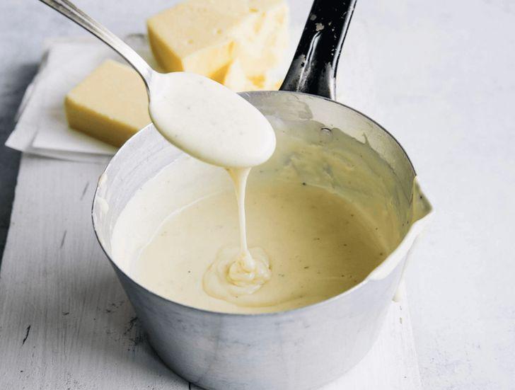 Рецепт сырного соуса