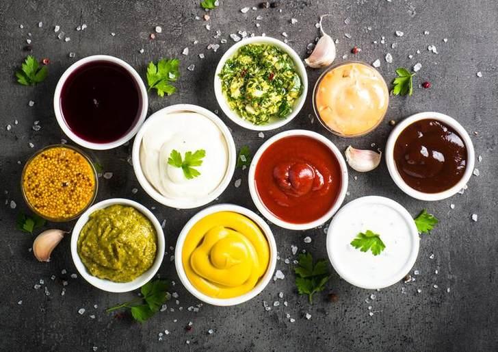 Варианты соусов без майонеза