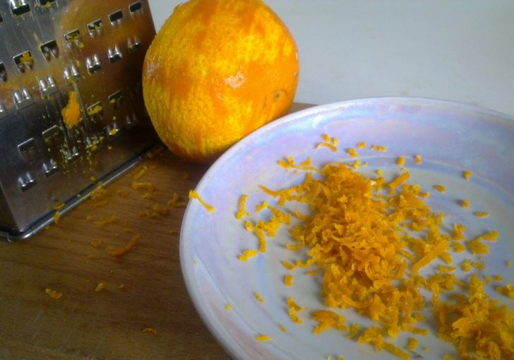 Цедра цитрусовых в выпечке