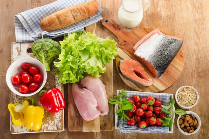 Содержание нутриентов в продуктах питания