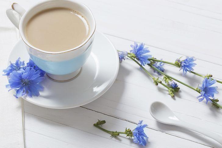 Цикорий с молоком