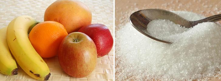 Что лучше: фруктоза или сахар