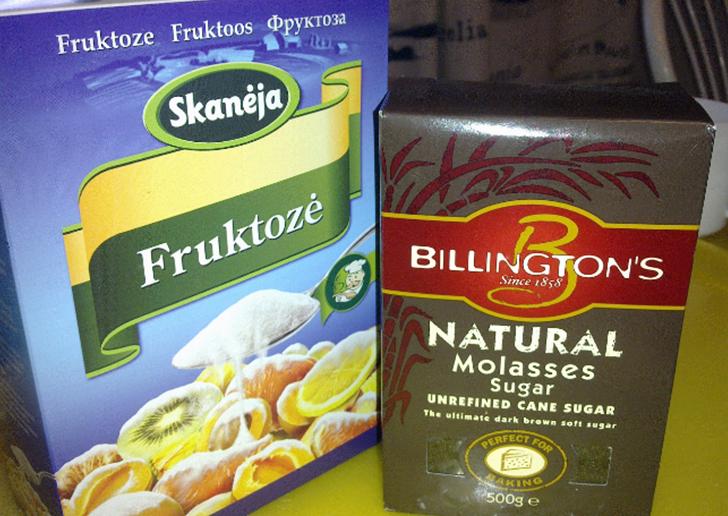 Что слаще фруктоза или сахар?