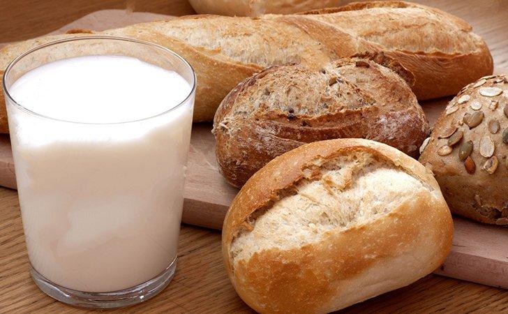 Диета на хлебе и молоке