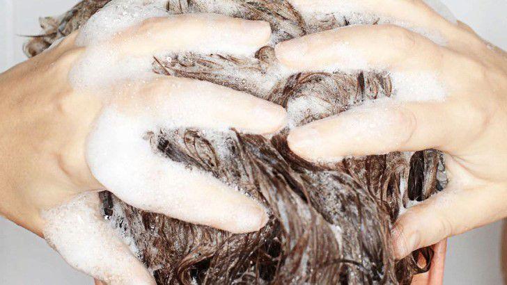 маска для волос из мыла