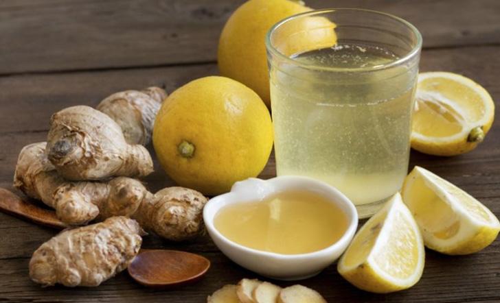 Маска для волос с лимоном и имбирем