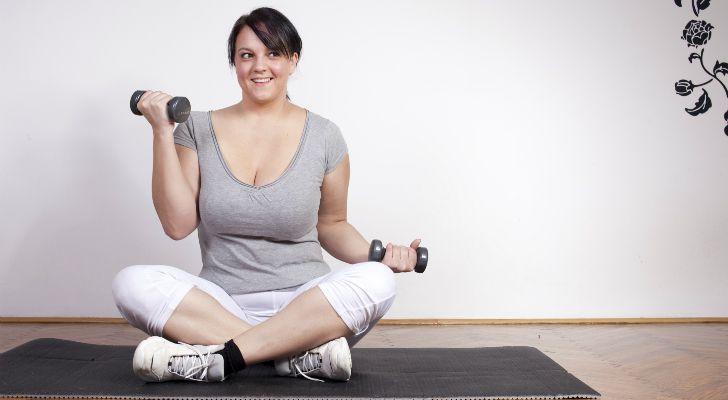 Упражнения для полных девушек