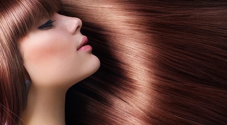 Ламинирование волос гладкие и послушные