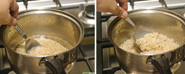 Как правильно варить бурый рис