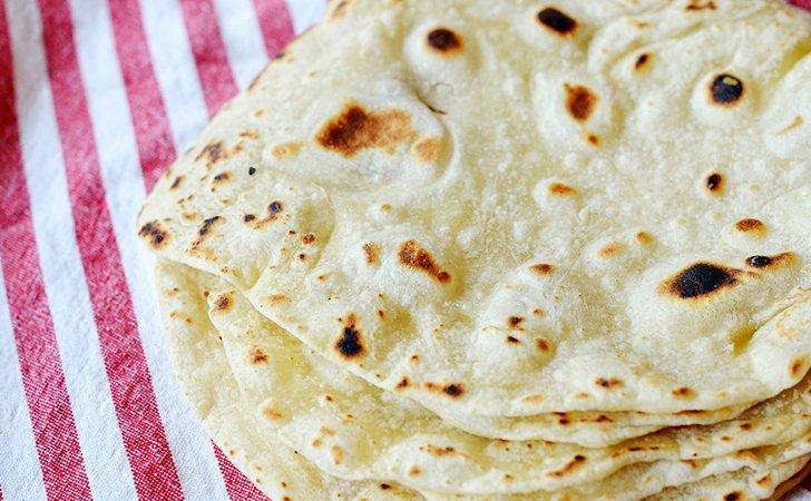Заменить хлеб домашними лепешками при похудении