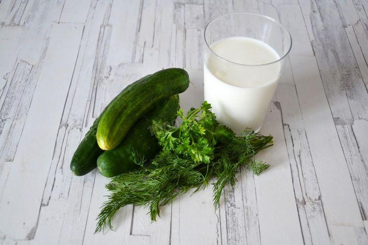 Совместимость кисломолочки и зелени