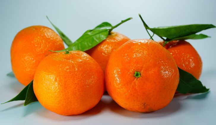 Химический состав оранжевых цитрусовых
