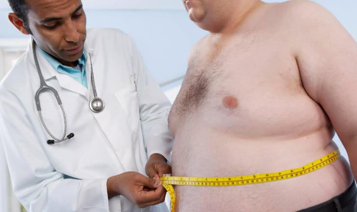 Лишний вес у пациента