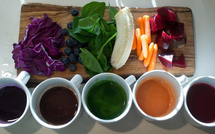 Как создать дома яркие продукты