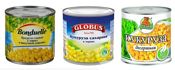 Диета на консервированной кукурузе