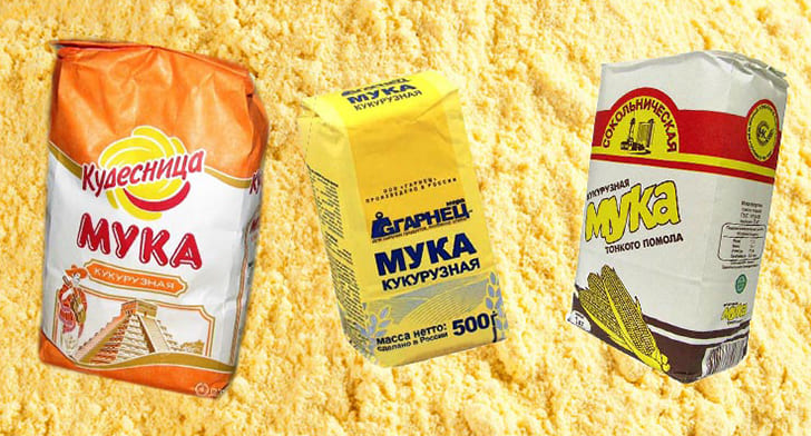 Полезные свойства кукурузной муки
