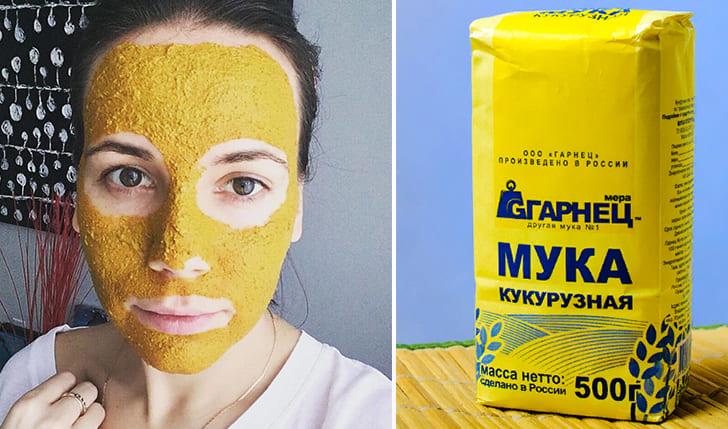 Применение кукурузной муки в косметологии