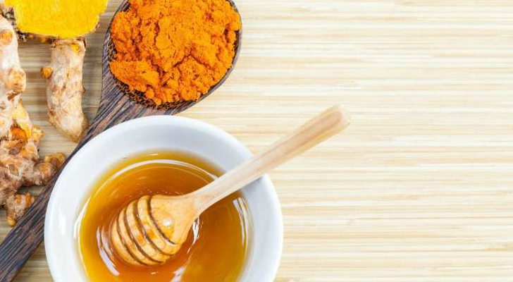 Куркума и мёд