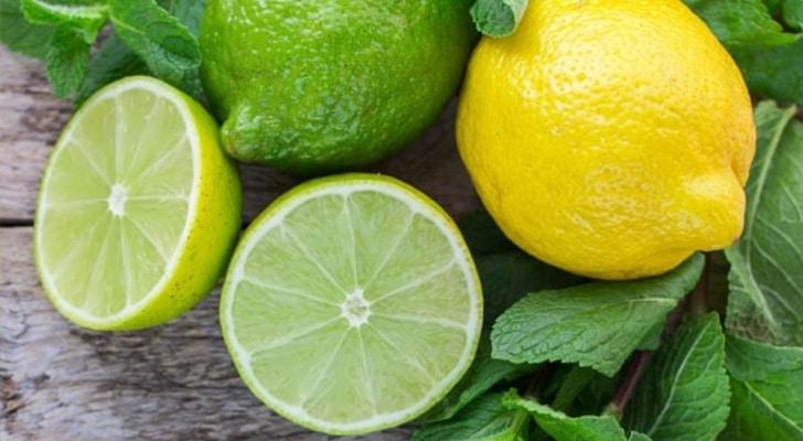 Лимон или лайм состав