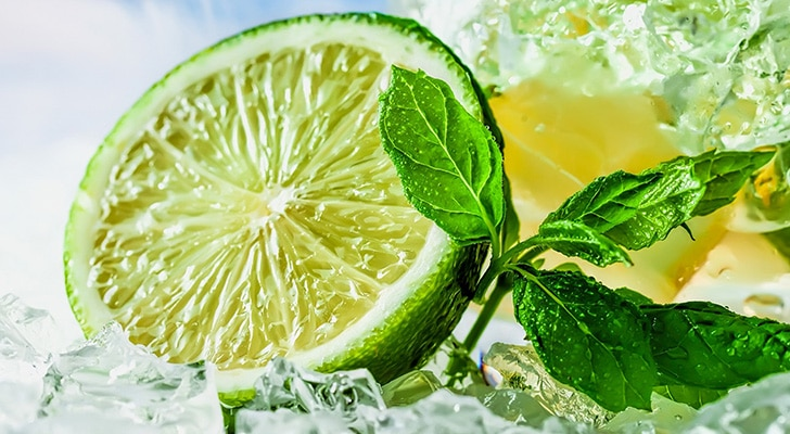 Лайм и лимон pH