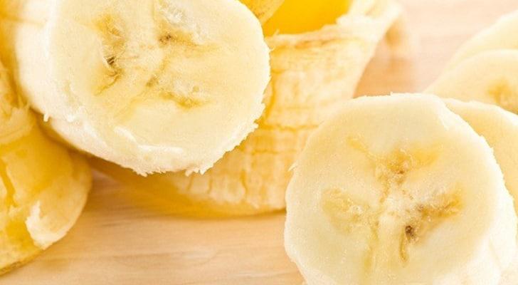 Мякоть банана для лица