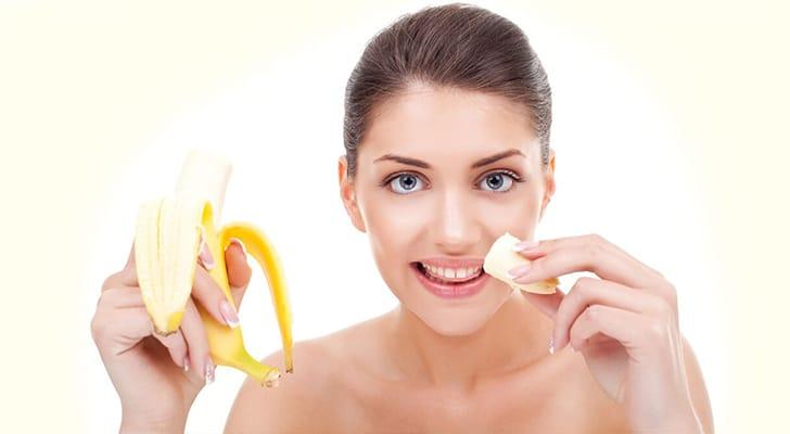 Банан для лица. В чем польза?