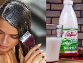 Маски для волос из кефира