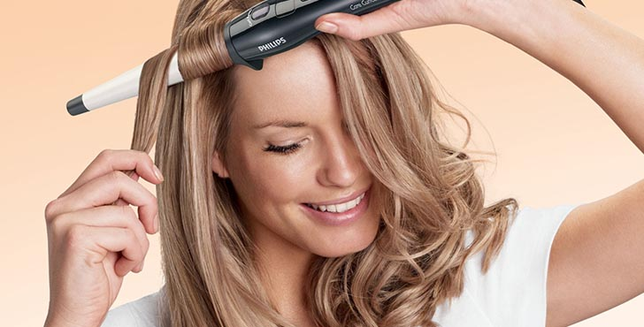 Горячая укладка наносит вред структуре волос