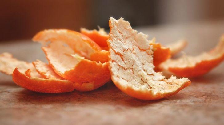 Что содержится в корках мандарина