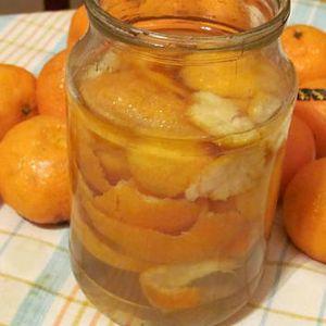 Настойка оболочек цитрусовых на спирту