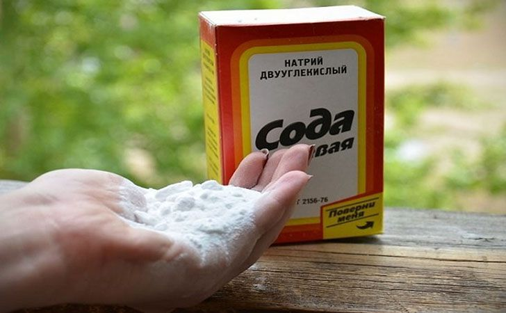 Сода для удаления не желательных волос